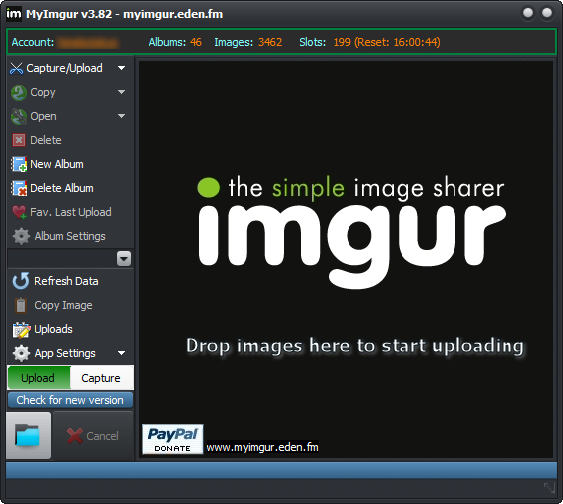 MyImgur 64-bit screenshot